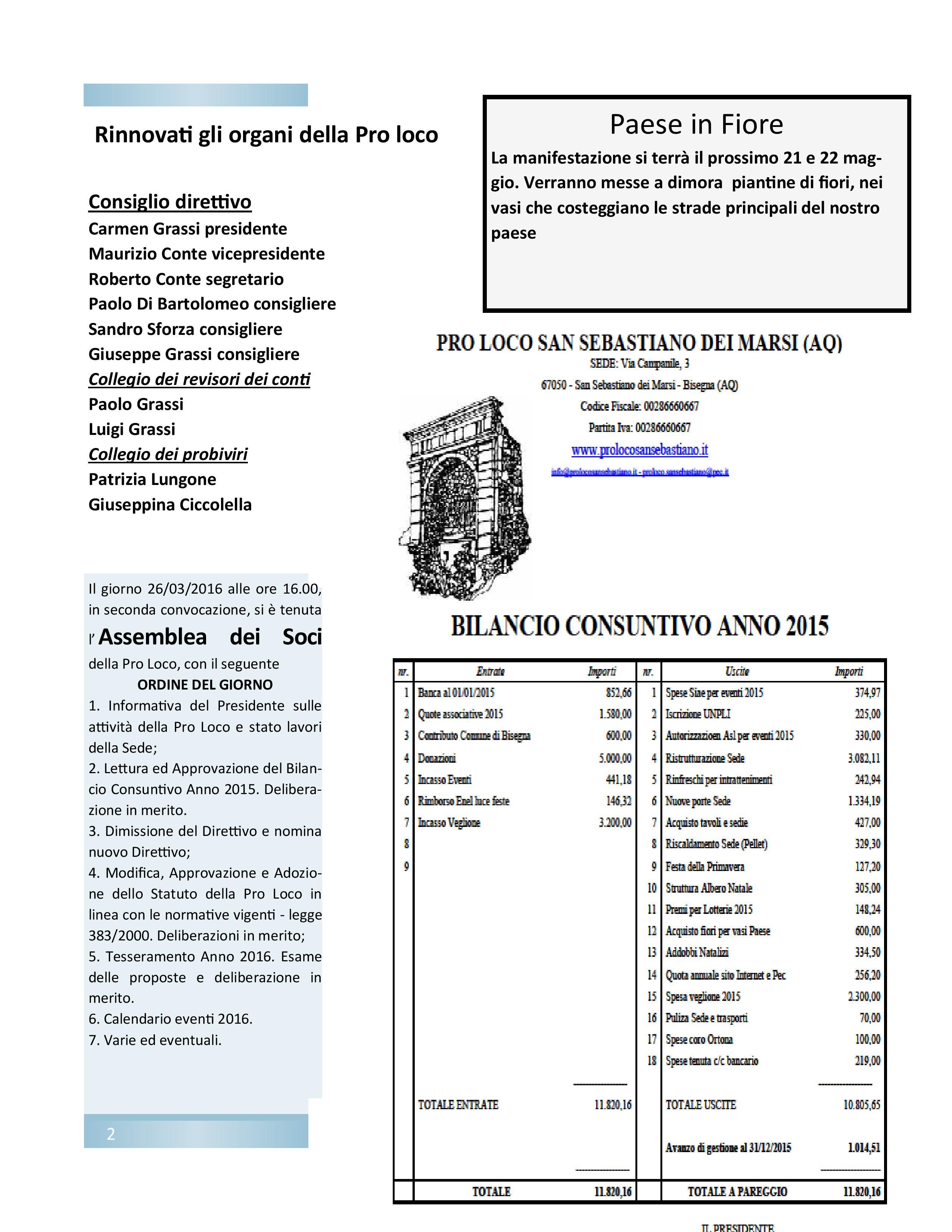 Bollettino n. 1 del 2016 Pro Loco San Sebastiano-page-002